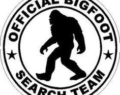 Bigfoot Sasquatch Silhouette Clipart - Free Clip Art Images