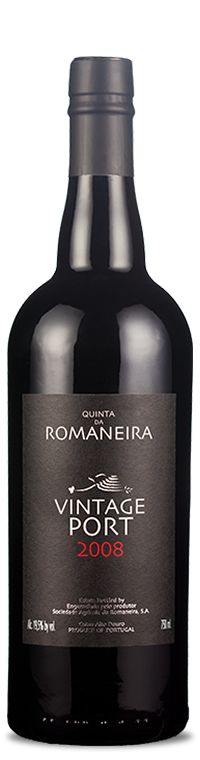 Winner of first prize at the National Wine Competition 2011, at the liqueur category. Do we have to say anything else? Yes! Born on a year of lower temperatures than normal, a factor that helped the maturation but decreases the production, the grapes that gave rise to Romaneira Vintage Port 2008 were tread by foot in the traditional winery, where they fermented to give rise to this wonderful nectar aged in wooden barrels.