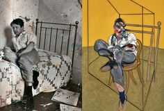 FRANCIS BACON Comparisons based on photographs.