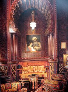 Moroccan Luxury: Yves Saint Laurent's Home
