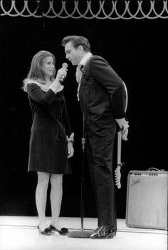 June Carter + Johnny Cash, 1967.  Photo by Baron Wolman  JOHNNY CASH AND JUNE CARTER TRIBUTE SHOW! JUNESGOTTHECASH.COM