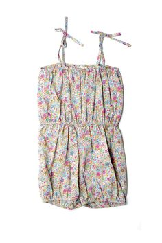 The cutest Blossom Romper for baby girl! Want it.
