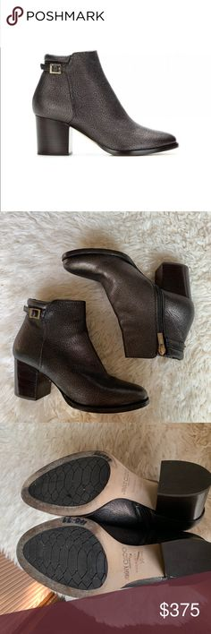c553ff33895e Jimmy Choo Method Metallic Leather Ankle Boot Jimmy Choo metallic grained  leather boot. 2.5