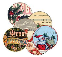Free Christmas labels