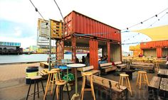 Abandoned island reborn as a shipping container street food mecca in Copenhagen Copenhagen Street Food Greenhouse – Inhabitat -