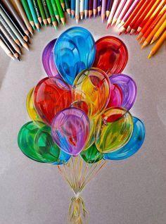Hinter diesem kunterbunten Beitrag findet ihr unglaublich tolle und farbenfrohe Zeichnungen, die mit Buntstiften gefertigt wurden. #büroshop24 haben es insbesondere die Portrait-Bilder angetan.