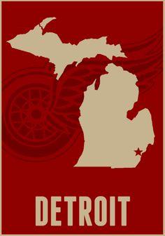 #Detroit #Michigan #detroitredwings