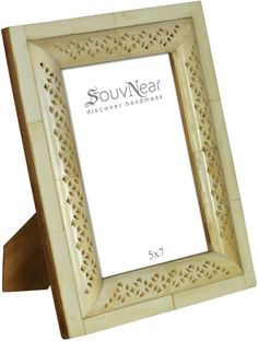 wholesale 5x7 off white picture frame in bulk wholesale handmade tiled photo frame