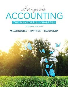Solution manual for fundamental financial accounting concepts 8th horngrens accounting the managerial chapters 11th edition fandeluxe Image collections