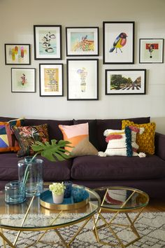 A Gallery Wall Is A Great Way To Add A Focal Point To An Open Plan Space.  Arrange Centrally And Nice And Low Over The Sofa. Open Plan Spaces Can Be  Hard ...