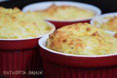 A szuflé alapja a tojáshab, amilaza szerkezetűvé, könnyűvé teszi a tésztát. Sokféle ízesítéssel elkészíthető. Érdemes kipróbálni a sajtszuflét is, amit általában a gyerekek is szeretnek. Sütésből megmaradt tojásfehérjét is hasznosíthatunk hozzá. Hozzávalók 4 szuflé formához (9,5 cm átmérő) 20 dkg sajt vegyesen (ementáli, eidami,cheddar, gouda, trappista) 3 tojás 5 dkg vaj 5 dkgfinomliszt 2 dl tej só, bors, szerecsendió, curry Elkészítés A sajtot reszeljük le. A tojásokat válasszuk szét. A…