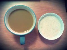 coffee & oatmeal
