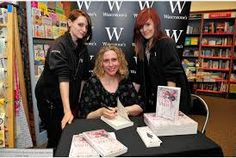 At Waterstones Grimsby with Jess and Jessie.