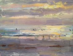 """Beach & Light"" Calendar 2016, 12 paintings (by Roos Schuring). Available here: http://rosepleinair.com/art-products-shop"
