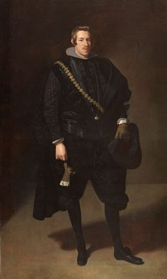 "Diego Velázquez Portrait of the Infante Charles of Austria, Museo del Prado, Madrid, Spain ""Charles of Austria – was infante of Spain, the second son of Philip III of Spain and. Spanish Painters, Spanish Artists, Francisco Zurbaran, Diego Velazquez, Don Carlos, Austria, Baroque Art, Classic Paintings, Caravaggio"