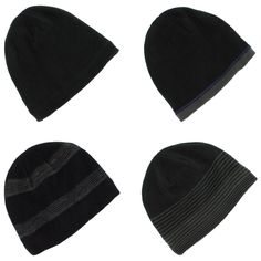 50d9984d669 Van Heusen Fleece Lined Beanie Winter Hat for Men - One Size