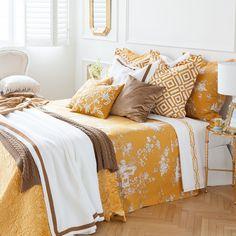 YELLOW LANDSCAPE BEDDING - Bedding - Bedroom | Zara Home United States
