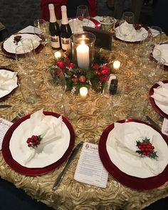 """Friday festivities with Beau Soleil Weddings......#ChristmasParty flow......thank you to the """"Wi-Hub Club"""" for letting us share our services for your event! #christmas #decor #linens #candles #party #bookme #acoastalaffair #conway #myrtlebeach #tistheseason #florist #flowers"""