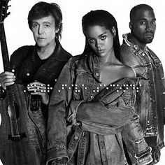 Kanye West, Rihanna & Paul McCartney - FourFiveSeconds