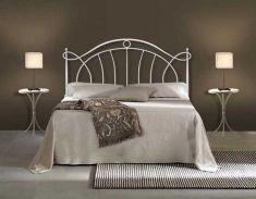 Ambiente dormitorio flor 2 forja cabeceros cabezales - Habitaciones de forja ...