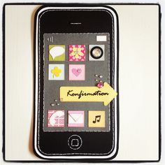 iPhone card Confirmation Cards, Baby Cards, Blackberry, Handmade Cards, Scrap, Iphone, Craft Cards, Blackberries, Diy Cards