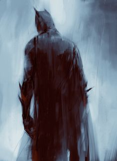 Batman, Marina Krivenko on ArtStation Heros Comics, Dc Comics Art, Marvel Dc Comics, Batman Poster, Batman Artwork, Batman Painting, Batman Wallpaper, Gotham City, Batman Gifts