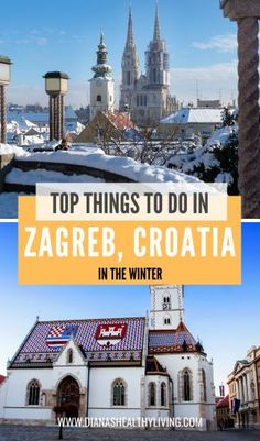 The top things to do in Zagreb, Croatia in the winter. You must visit the Zagreb Christmas market. Advent in Zagreb is a must experience. Go on a day trip to Plitvice Lakes. Croatia Travel Guide, Europe Travel Guide, Europe Destinations, Travel Guides, Travel Abroad, Travel Advice, Plitvice National Park, European Travel Tips, Zagreb Croatia