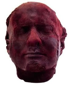This is a 'self-portrait' sculpture by the artist Marc Quinn. Ironically called 'Self', this sculpture of his head is filled with his own actual blood. As this sculpture uses the artist's frozen blood, it technically relates to the theme of 'Self'. Bridget Riley, Marc Quinn, Saatchi Gallery, A Level Art, National Portrait Gallery, Conceptual Art, Oeuvre D'art, Art World, Les Oeuvres