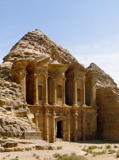 Visit Petra, Jordan. What an amazing work of architecture!