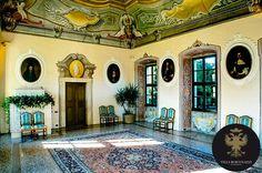 Il #salone del trionfo di #Villa Bortolazzi