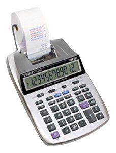 Canon P23-DTSC Calculatrice portable avec imprimante 12 chiffres Bicolore Ecran LCD Calcul taxe / rentabilit é Horloge / Calendrier ,avec…