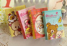 Stock promotional New fashion New fashion kawaii korean stationery Cute easily bear memo pad cartoon student noteapd