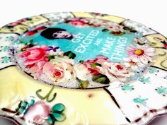 I LOVE RESIN: Resin Up-Cycled Plate Project