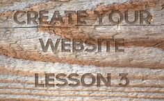 Website Creation Lesson 3 - How To Link Domain To Web Host