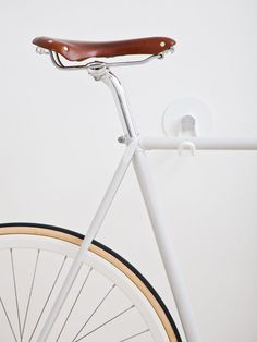 Bike Hooks / ALL WHITE GUM would look great in the hallway or living room                                                                                                                                                                                 More
