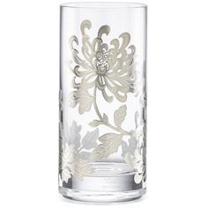 Marchesa Painted Camellia Highball Glass By Lenox