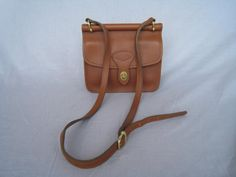 vintage VEGAN SADDLEBAG purse
