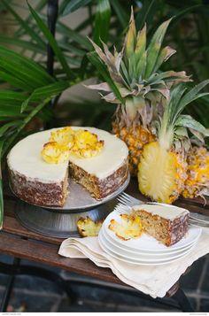 Hawaiian pineapple cake recipe