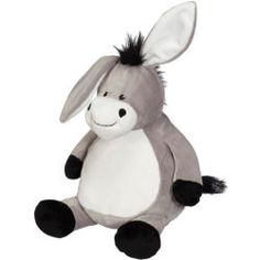 "EB Embroider Buddy - 16"" Donkey Embroider directly on front and back of Donkey Two removable stuffing pouches for easy embroidery. Fits under your home machine head much easier."