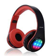 Oferta: 19.99€ Dto: -81%. Comprar Ofertas de Ecandy Bluetooth para auriculares con 3 Modo Luz Led estéreo de música plegable Sobre-oído sonido de alta fidelidad, construi barato. ¡Mira las ofertas!