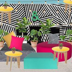 Event Decor inspiration -Wynwood Fresh Rent the Look -event theme.