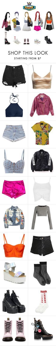 """""""[ HOT ] ARIA (아리아) - Gotta Be You (너 아님 안돼) Show Champion"""" by ariaofficial ❤ liked on Polyvore featuring Boohoo, J.Crew, THU THU, Levi's, Maison Scotch, House of Deréon, Topshop, Dolce&Gabbana, Wolford and Madewell"""