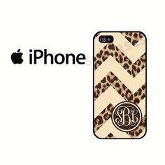 Monogram Leopard Chevron iPhone 5S Case iPhone 4 Case by subcases, $12.99