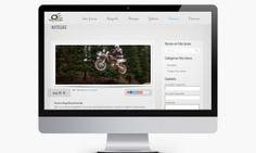 Diseño del Blog para página web de Fotografía y fotógrafa profesional http://www.basicum.es/portfolio-item/diseno-pagina-web-de-fotografia-y-fotografa-profesional/