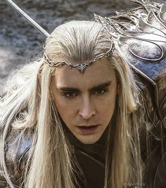Lee Pace as Thranduil in The Hobbit: The Battle of the Five Armies via maivolchica on Tumblr. Clearly he's broken by this point, excellent acting by Lee. Hoping the extended edition gives him some character resolution with his portion of the treasure being returned to him.