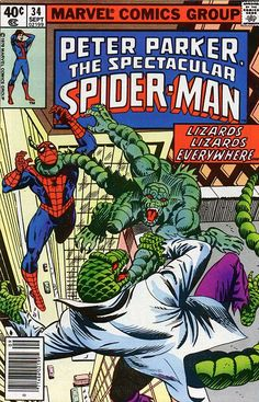 Peter Parker, The Spectacular Spider-Man # 34 by Al Milgrom