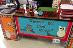 """putting words in your mouth: From my """"speech room"""""""