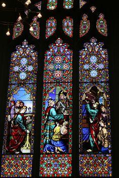 stained glass - St. John's in Edinburgh