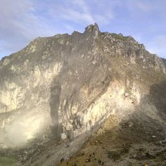 Gunung Sibayak di Brastagi