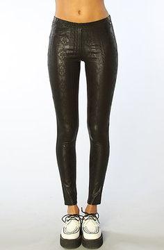 3ceb06fd59 Obey The Desert Rain Printed Leggings in Black Obey.  72.00 Metal Fashion